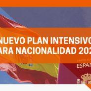 Nuevo Plan Intensivo para Nacionalidad 2021