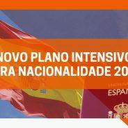 Novo Plano Intensivo para Nacionalidade 2021